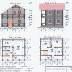 проект дом типовой индивидуальный планировка архитектура материал проектирование строительство дизайн коммуникации фасад стоимость стройка чертеж инженерные сети