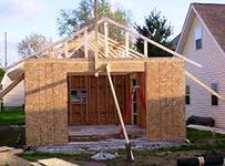 сарай, дом, постройка, место, участок, назначение, материал, фундамент, площадка, стойки, соединения, опалубка, стены, кровля, плиты, блокхауз,    гидроизоляция