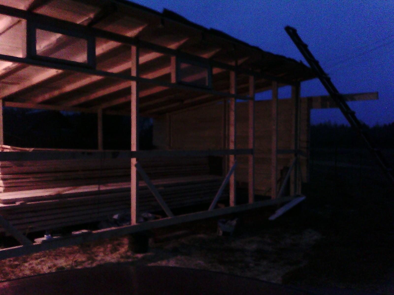 Сарай из бруса своими руками строительство деревянных 1