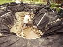 Как выкопать пруд на даче