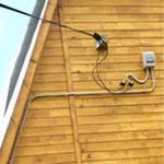 проводка дачный дом электропитание сечение кабеля нагрузка приборы автомат мощность схема потребители кабель алюминий медь счетчик расчет