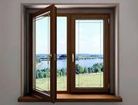 Пластиковые окна для деревянного дома